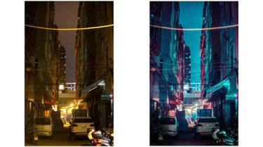 PHOTOSHOPで写真をサイバーパンクっぽく加工する方法