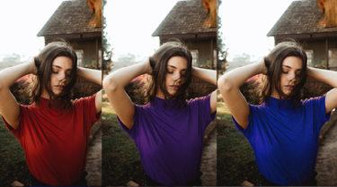Photoshopで写真の色を部分的に変える方法